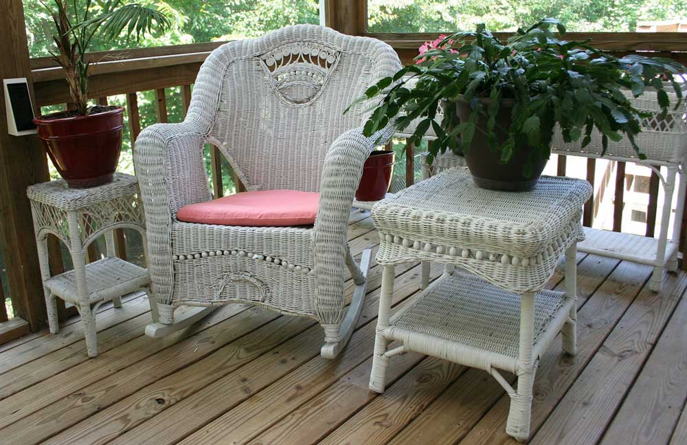 patio furniture disinfection