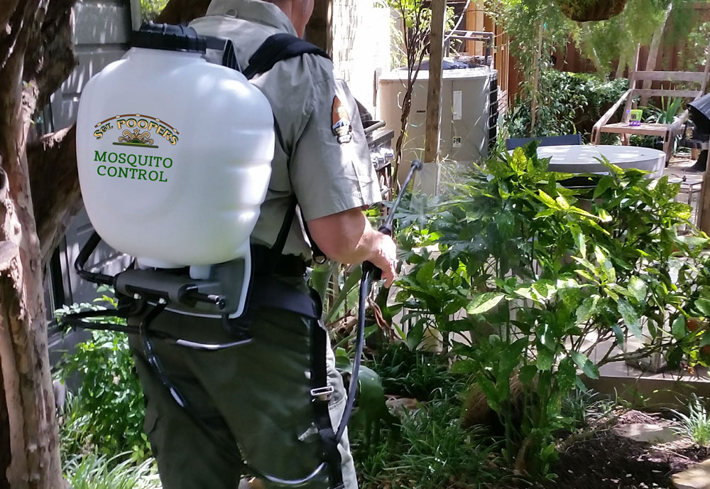 Sgt. Poopers® mosquito control treatment