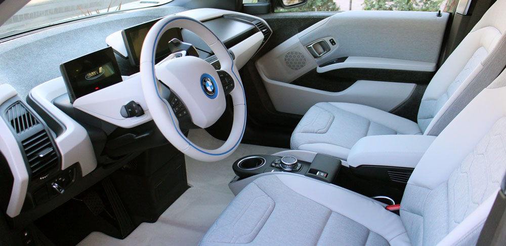 Image of a vehicle interior.