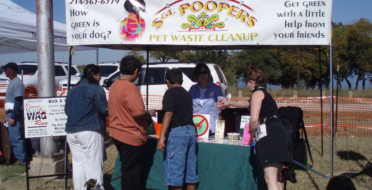 Sgt. Poopers sponsors Walk, Wag Run