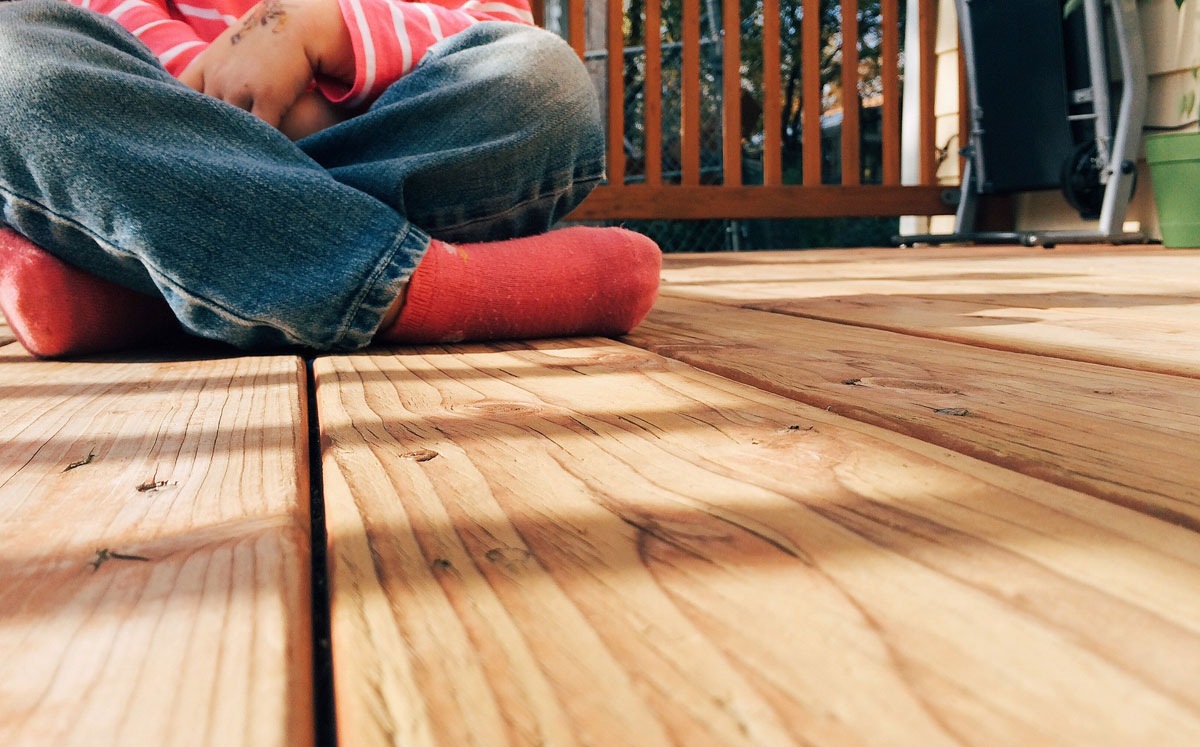 Deck and Patio Disinfection