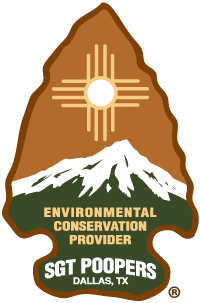 Sgt. Poopers® Chartered Conservationist badge