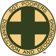 Sgt. Poopers Disinfection and Deodorizing button