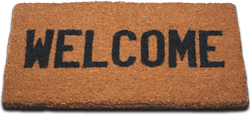 disease welcome mat
