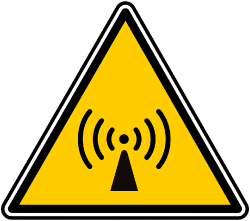 Image of emf-warning symbol