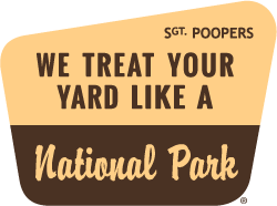 "Sgt. Poopers brand trademark, ""We treat your yard like a National Park"""