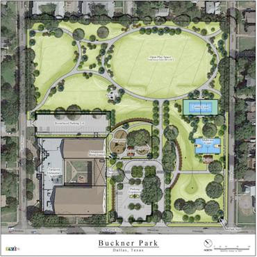 dallas texas park plan