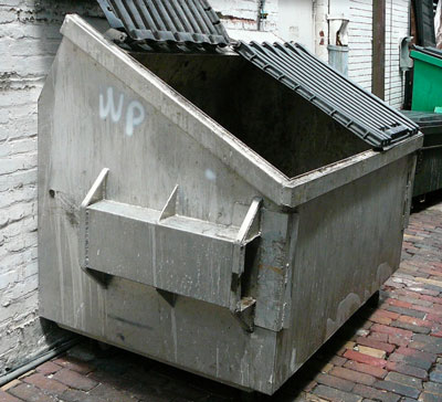 dumpster disinfection