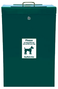 The best design on the market for a sealed pet waste container